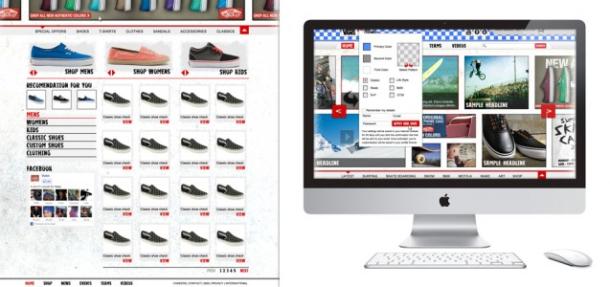 Vans Web Concept